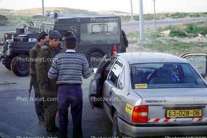 Checkpoint, IDF, Israeli Defense Force, soldiers