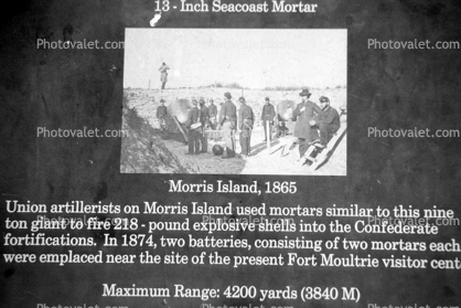 Morris Island, Civil War, coastal defense, coast