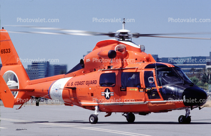 HH-65 Dolphin Helicopter, USCG