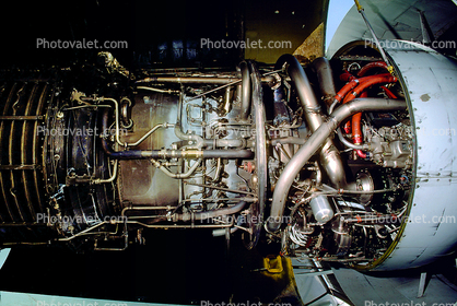 Lockheed C-5A, GE TF-39 turbofan jet engine, 90009, Military Airlift Command, MAC, Tailplane, MATS, Moffett Field