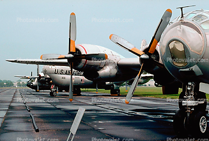 Boeing WB-50D Superfortress, Wright-Patterson Air Force Base, Fairborn, Ohio