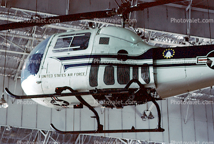 Bell UH-13J, Sioux, Wright-Patterson Air Force Base, Fairborn, Ohio