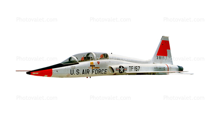 TF-157, T-38 Talon, 38157, photo-object, object, cut-out, cutout