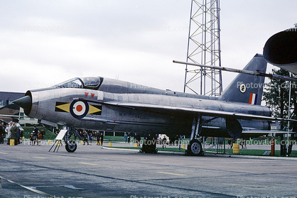 XS416, English Electric (BAC) Lightning, RAF