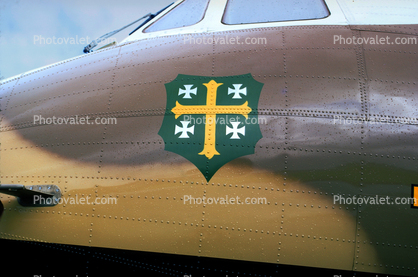 Hawker Siddeley Andover (HS 780), Hawker Siddeley HS 748, medium-sized turboprop, noseart, RAF, Royal Air Force
