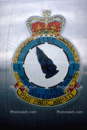 WING, Royal Canadian Air Force, Pro Pace Armati, emblem, shield