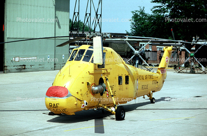 XT601, RAF Rescue Helicopter, Westland, WJ, Middle Wallop