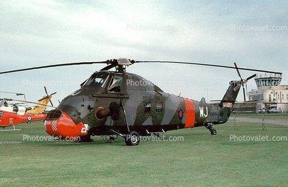XS676, RAF Helicopter, Westland, WJ, Middle Wallop