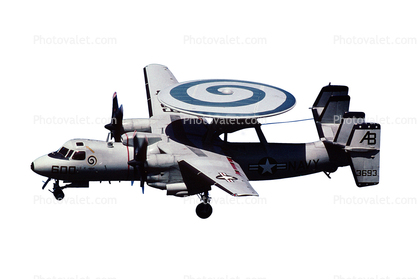 3693, Grumman E-2C Hawkeye photo-object, object, cut-out, cutout, 609, USN
