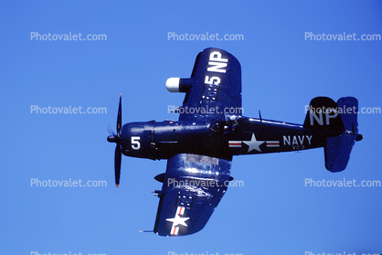 5 NP, Vought F4U Corsair, USN, United States Navy