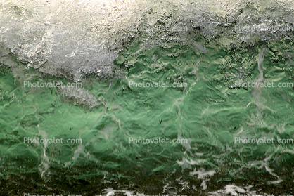 Green Texture, Little Wave, Beach, Wave, Sonoma County Coast, Ocean, Water, Seawater, Sea