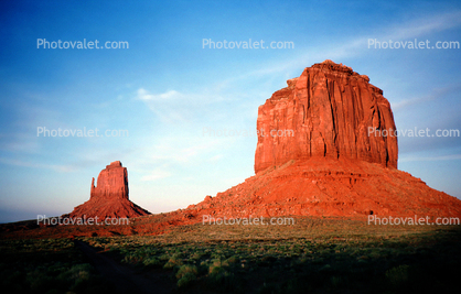 Merrick Butte, Mitton Butte, geologic feature, butte