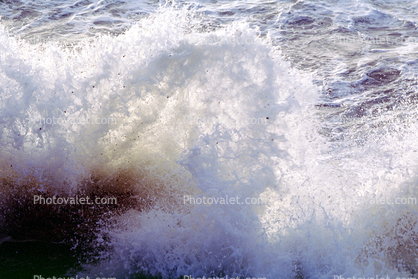 Stormy Seas, Ocean, Storm, Foam, Waves, Turbid, Pacifica