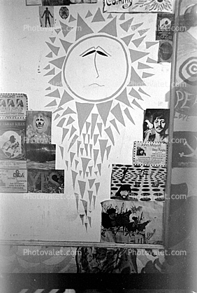 The Bewildered Sun, Posters, Boys bedroom, 1960's, San Diego, California, Loma Portal, My Room, psyscape