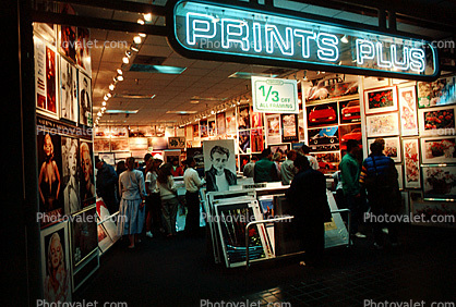 prints plus poster store mall images photography stock pictures