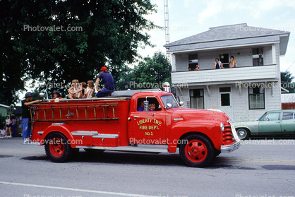 Liberty Township Fire Engine, Chevrolet Truck, Chevy