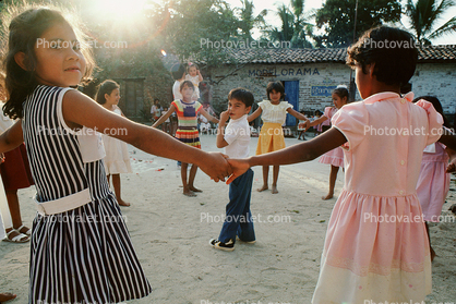 Elementary School, Yelapa, Mexico, Circle Dance