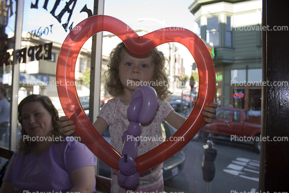 Heart Balloon, Cafe Trieste