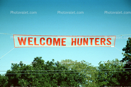 Welcome hunters banner shooting range Images Photography Stock r2g2tVrh