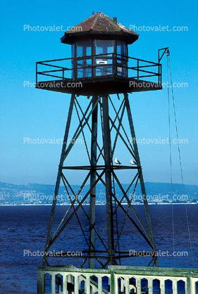 Watch Tower, Guard Tower, Alcatraz, Alcatraz Island