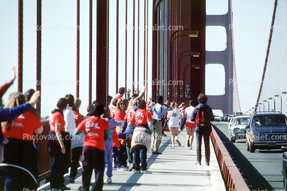 Hands Across America, Golden Gate Bridge, May 24 1986, 1980's