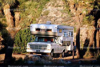 Ford Camper Truck, Joshua Tree National Monument