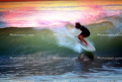 Topanga Beach Surfer