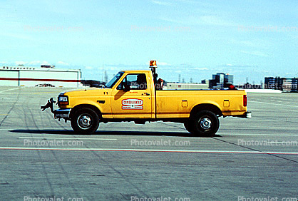 Consolidated Aviation Services, Pick-up Truck, Ground Equipment
