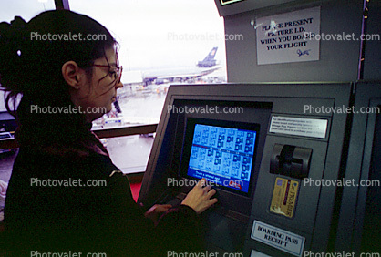 Electronic Ticket, San Francisco International Airport (SFO)