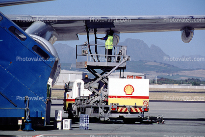 shell, Cape Town, Boeing 747