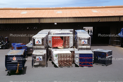 American Airline Air Cargo Pallets