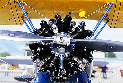 Radial Engine, Propeller