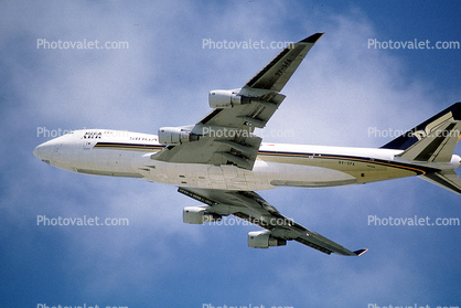 9V-SFA, Singapore Airlines Cargo, Boeing 747-412F, 747-400 series, Mega Ark, PW4000, PW4056, 747-400F