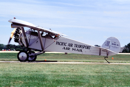 Ryan M-1, Pacific Air Transport, Air Mail, Oshkosh, Wisconsin