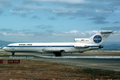 N4751, Clipper Competitor, Boeing 727-235, Pan American World Airway PAA, JT8D-9A, JT8D, 727-200 series