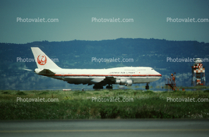 San Francisco International Airport (SFO), 747-300 series, Japan Airlines JAL