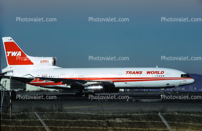 Trans World Airlines TWA, Lockheed L-1011-100, (SFO), N31032, RB211