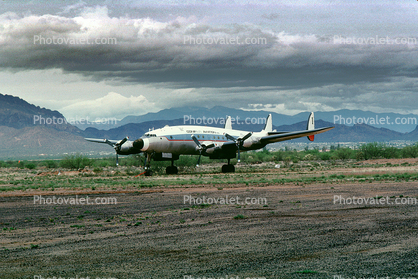 N494TW, Conifair Aviation Inc, Lockheed 749, Ryan Airfield, Airport, (RYN), Tucson