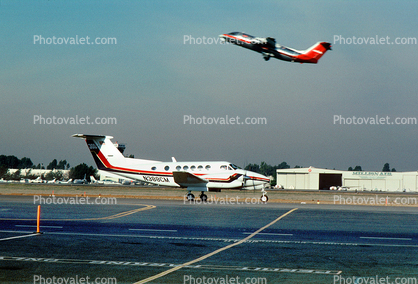 N388CM, US Airways AWE, Beech 300LW Super King Air, PT6A