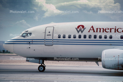 N164AW, Boeing 737-33A, America West Airlines AWE, 737-300 series