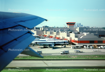 Ground Control Tower, terminal building, Atlanta Skyline, wing, Lots o' Planes, Terminals, Gates, Piers, Buildings