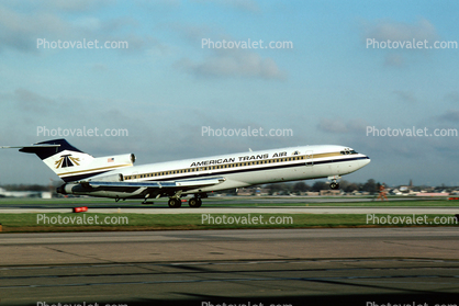 Boeing 727, American Trans Air, Taking-off