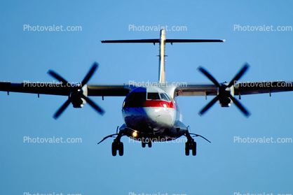 turboprop, head-on