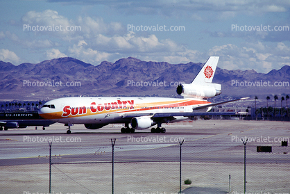 N154SY, Sun Country Airlines, Douglas DC-10-15