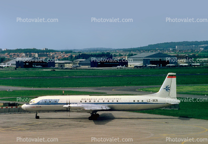 LZ-BER, TABSO - Bulgarian Air Transport, Ilyushin IL-18D