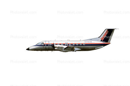 N308SW, Embraer EMB-120ER Brasilia, SkyWest, photo-object, object, cut-out, cutout, PW118B