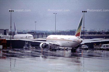 ET-ALH, Ethiopian Airlines, Boeing 767-3BG(ER), 767-3BGER,, PW4062, PW4000, USA, 767-300 series