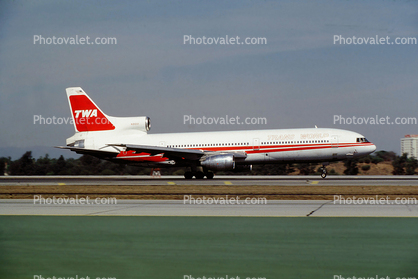 N31001, Trans World Airlines TWA, Lockheed L-1011-1, RB211-22B, RB211, October 1979, 1970's
