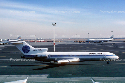 N4735, Boeing 727-235, Pan American Airways PAA, 35 Clipper Daring, JT8D, JT8D-7B, 727-200 series