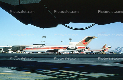 N566PE, Boeing 727-227, Continental Airlines COA, JT8D-9A